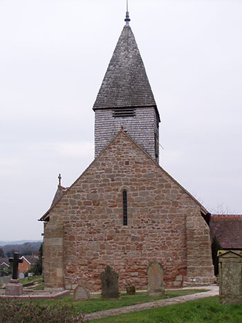St Mary Magdalene, Alfrick: repointing